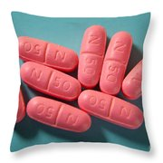 Metoprolol Throw Pillow