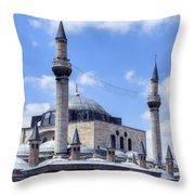 Mevlana Museum Konya - Turkey Throw Pillow