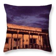 Mexican Cantina Rio Lobo Set Old Tucson Arizona 1970-1980 Throw Pillow