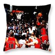 Michael Jordan Soft Touch Throw Pillow