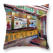 Mickey's  Throw Pillow