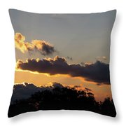 Midwest August Throw Pillow