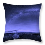 Milky Way Heaven Throw Pillow