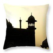 Minarets At Sunrise Throw Pillow