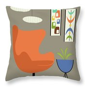 Mini Oblongs And Mobile Throw Pillow