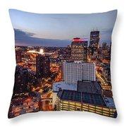Minneapolis Nights Throw Pillow
