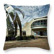 Minnestrista Museum - Muncie Indiana Throw Pillow