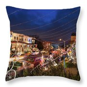 Miracle On 34th Street Throw Pillow