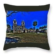 Mission Concepcion San Antonio Throw Pillow