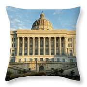 Missouri State Capital Throw Pillow