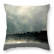 Misty Crossing Throw Pillow