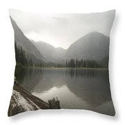Misty Fjord 2 Throw Pillow