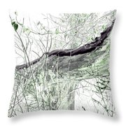 Misty Morn Throw Pillow