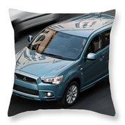 Mitsubishi Throw Pillow