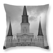 Model Church Throw Pillow