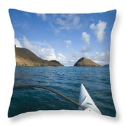 Mokulua Islands Throw Pillow
