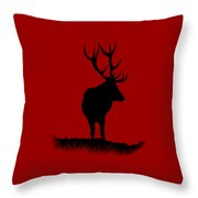 Monarch Of The Park  Throw Pillow