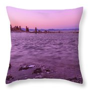 Mono Lake California Throw Pillow
