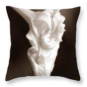 Moon Flower 2  Throw Pillow
