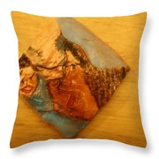Morning - Tile Throw Pillow