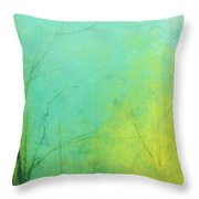 Morning Blue 2 Throw Pillow