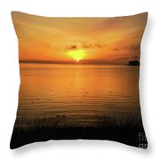 Morning Calm Throw Pillow