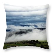Morning Fog 2 Throw Pillow