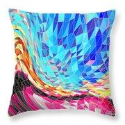 Mosaic #2 Throw Pillow