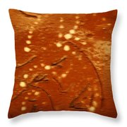 Mothers Eyes - Tile Throw Pillow