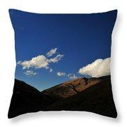 Mountain In The Good Light Throw Pillow