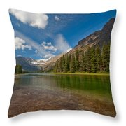 Moutain Lake Throw Pillow