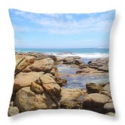 Mouth Of Margaret River Beach IIi Throw Pillow