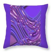 Moveonart Waves Of Interpretation Throw Pillow