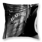 Mr. Fender Throw Pillow