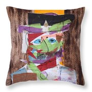 Mr Leopold Bloom Throw Pillow
