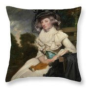 Mrs. Lewis Thomas Watson Throw Pillow