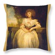 Mrs Mark Currie Throw Pillow