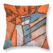 Mum 3 - Tile Throw Pillow