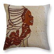 Mums Here - Tile Throw Pillow
