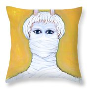 Mute Control Throw Pillow