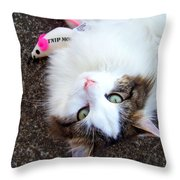 My Favorite Toy Throw Pillow