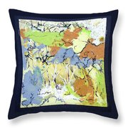 My Wild Garden Throw Pillow