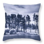 Mystic Parallel World Throw Pillow