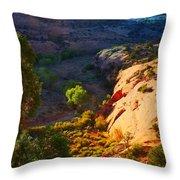 Mystic Utah Throw Pillow