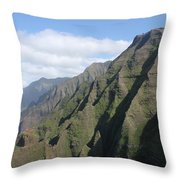 Na Pali Coast Throw Pillow