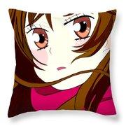Nanami Throw Pillow