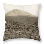 Naples: Mt. Vesuvius Throw Pillow