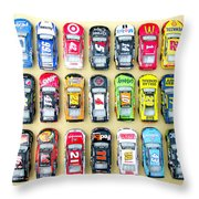 Nascar Collection Throw Pillow