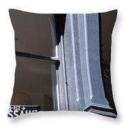 Nassau Street Throw Pillow