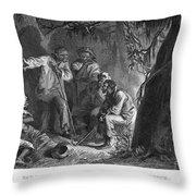 Nat Turner (1800-1831) Throw Pillow